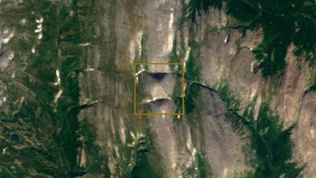 Se descubrió una pirámide gigante en los Urales 2