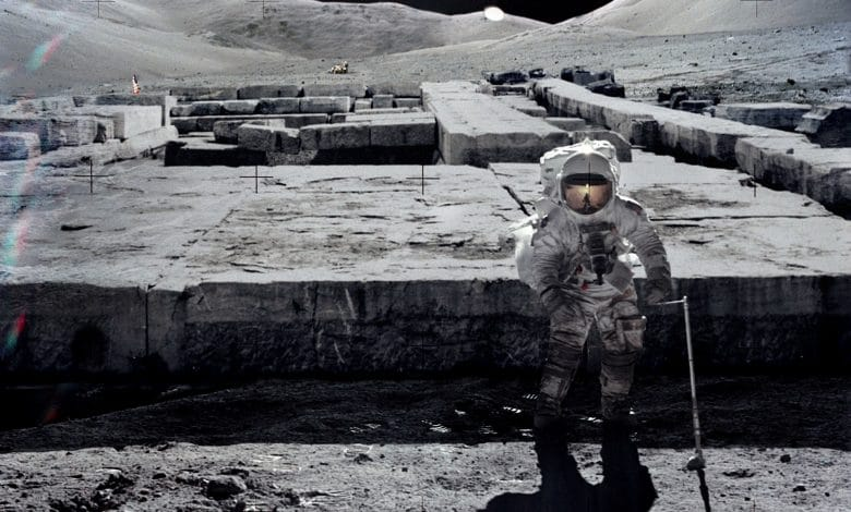 Se han encontrado en la luna una nave alienígena, cámaras criogénicas y las ruinas de edificios antiguos.
