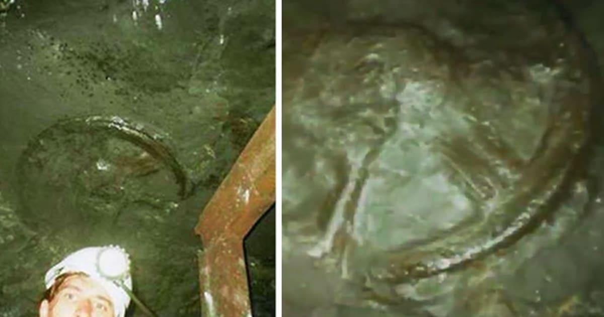 Esta rueda de carro de 300 millones de años fue descubierta en el interior de una mina
