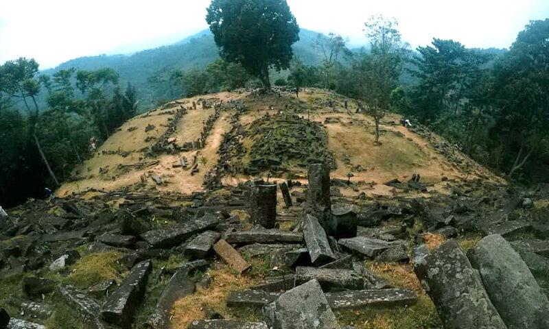 Gunung Padang, quien construyó la estructura más antigua de la Tierra 4