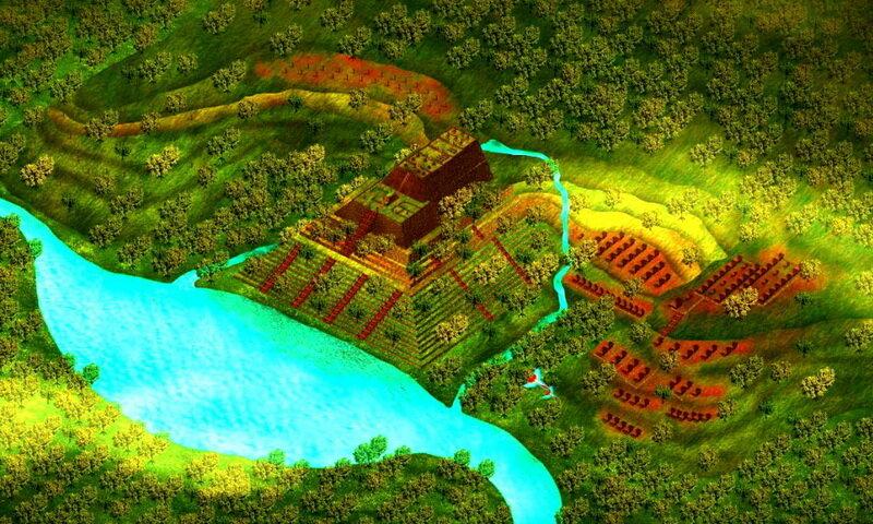 Gunung Padang, quien construyó la estructura más antigua de la Tierra 5