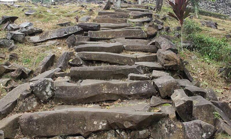 Gunung Padang, quien construyó la estructura más antigua de la Tierra 2