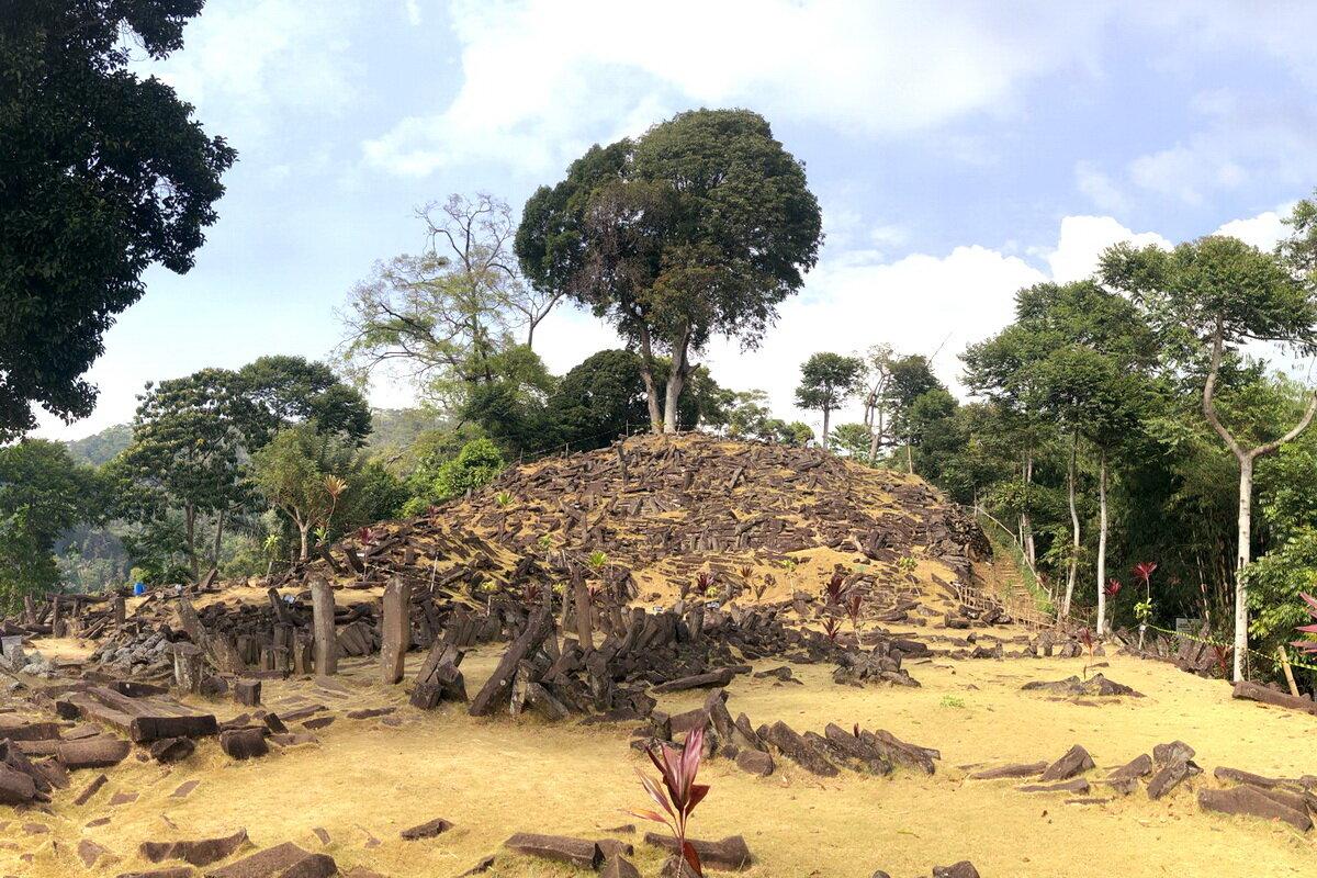 Gunung Padang fue construido con orientación al Sol y las estrellas.