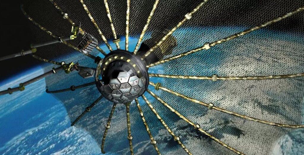 Blue Beam en ISS: OVNI observó la prueba del satélite militar estadounidense en órbita terrestre baja 3